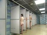 Hidden cam Shower in public pool Voyeur