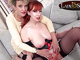 Naughty matures Sonia and Red love to tease