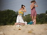 Girls on beach 66