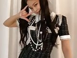 Korean celeb jennie kim she so hot