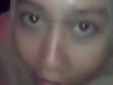 Malaysian Tudung Comel Isap Batang