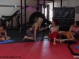 Gym Lesbian Sex - Dava Foxx, Audrey Miles
