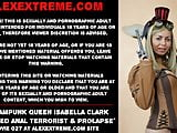 Steampunk Isabella Clark take red anal terrorist & prolapse