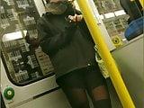 Junge Frau in Sexy Leggings