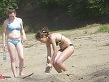Girls on beach 20
