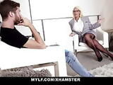 MYLF - Mature Milf Gets Cum On Her Huge Tits
