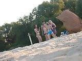Girls on beach 36