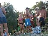 Girls on beach 34