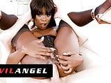 EvilAngel - Black Beauty Ana Foxxxs Tight Ass Fucked