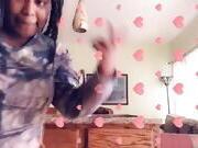Ebony bbw shaking ass