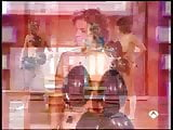 tv game show. naked girl