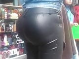 Some Spanish Sexy Big ass leather girl