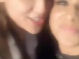Nia Sharma lesbian kissing Krystal DSouza