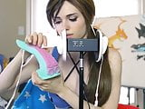 BAD DRAGON ASMR - Amouranth