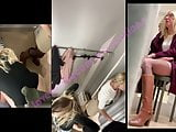 GCFR 18 - Rich milf & her blondie daughter in fitting room