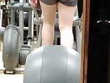 Gym candid