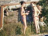 Girls on beach 46