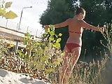 Girl on beach 27