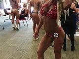 Bikini Competitor Christine! Just A Tease PMV!