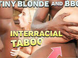 BLACK4K. Lovely young Nesty with blonde hair enjoys very big