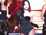 Hwasa from the group Mamamoo hot body fancam