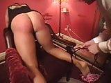 Femdom strapping
