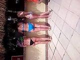 Girls on beach 107
