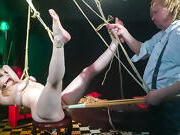 FORBONDAGE - German MILF Mary O. Gets BDSM From Kinky Master