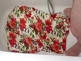 piss on floral 3 dress