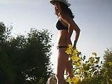 Girl on beach 79