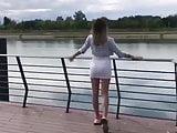 Julija Pantic sexy walk