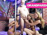 Santas Checking Two Strippers Twice