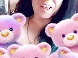 Playing with teddy bears