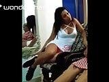 Big Titty Spanish Chick Sitting Upskirt