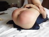 Chinese girl hand and bottom caning