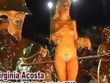 Virginia Acosta, the naked queen of the Corrientes Carnival