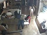 Hidden cameras. Naked mom