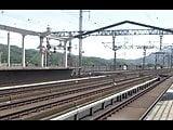 Shinkansen 460km. Under test.Not porn