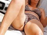 Milf hidden cam - mature teacher in bikini