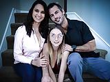 Foster Daughter Fucks Her Prospective Parents