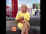 Geile Schenkel:Susan Link solo im engen Kleid und High Heels