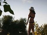 Girl on beach 85