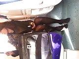 elegant black pantyhose
