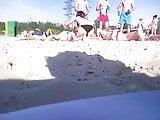 Girls on beach 111