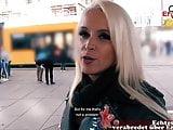 German mature skinny milf at public pick up EroCom Date