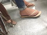 Candid Teen Latina Flip Flops Part 7