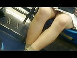 Beautiful Korean girl upskirt