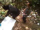 Doggy Style Bareback Asian Prostitute Forest