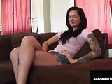 Tatted Up Beauty Maria Marley Is A Ass Chute Virgin No More