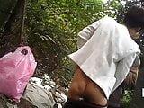 Short Hair Asian MILF Prostitute Bareback Doggy Style